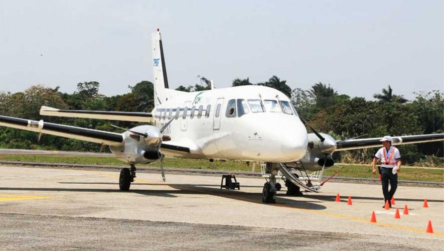 Inauguran aeropuerto en Puerto Barrios, Izabal