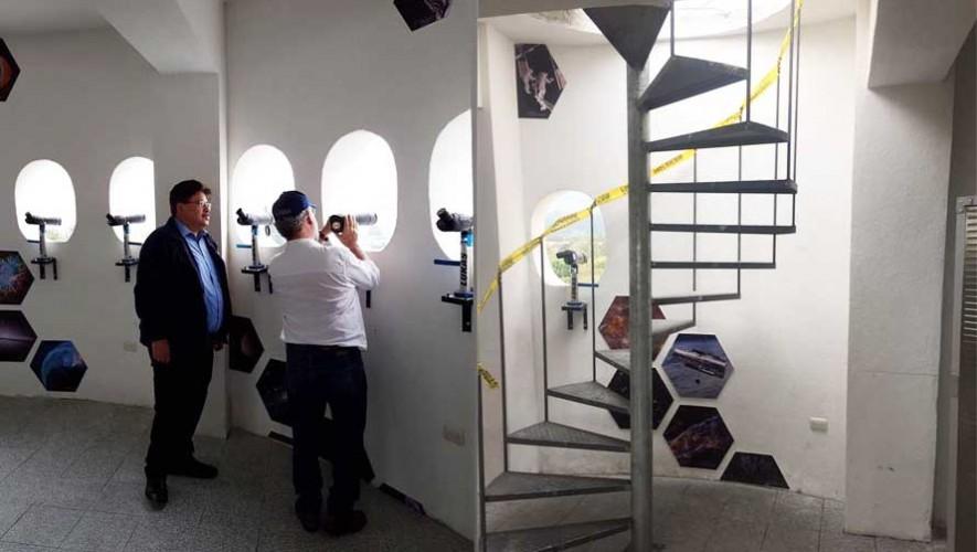 Inauguran el primer planetario en el municipio de San Miguel Dueñas Guatemala