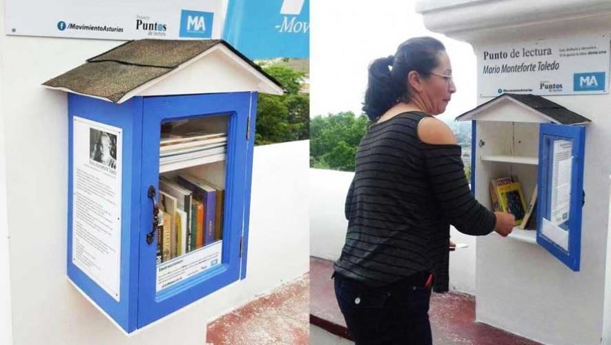 Inauguran el punto de lectura en Guatemala