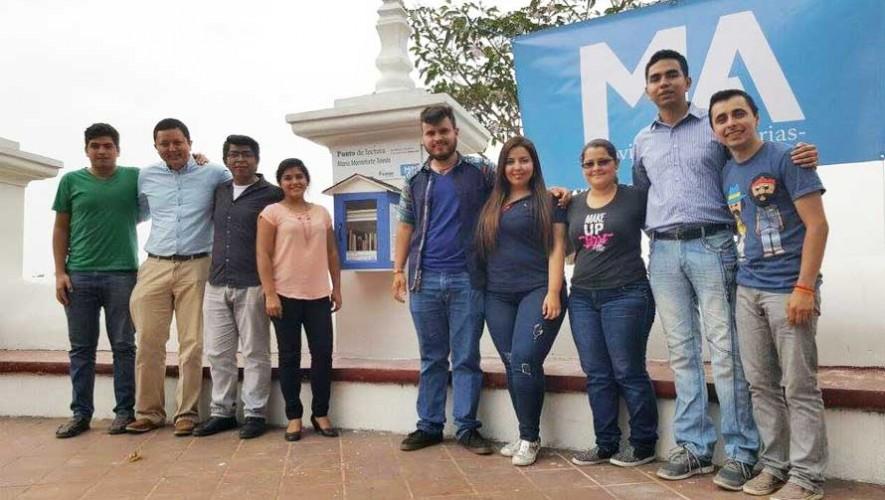 Inauguran puesto de lectura en Guatemala