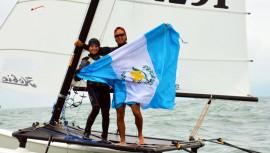 Jason Hess se encuentra en Italia realizando un campamento de entrenamiento para posteriormente competir en la Riva Cup. (Foto: COGuatemalteco)
