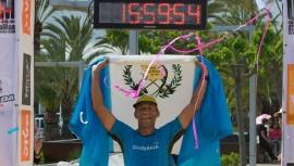 Juan Carlos Sagastume se consagró campeón de los 532 km de Mallorca. (Foto: Ultra Mallorca Man)