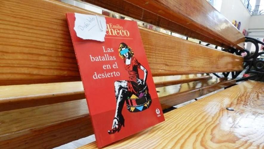 Liberación de libros en lugares públicos, Guatemala   Abril 2017