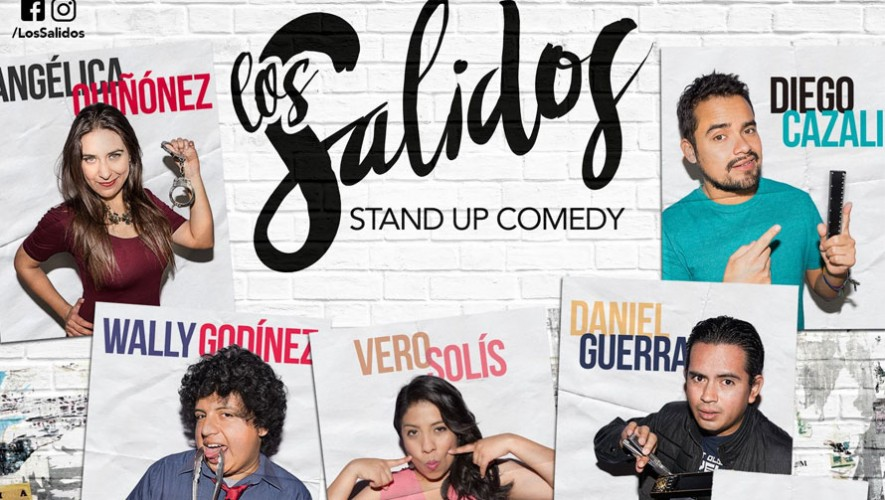 "Show de Stand Up Comedy ""Los Salidos"" 