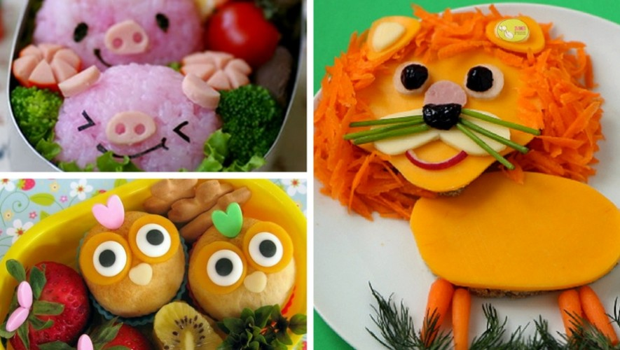 Taller de comida creativa para niños | Mayo 2017