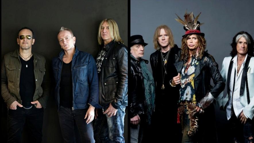 Tributo a Def Leppard y Aerosmith en Trovarock | Abril 2017
