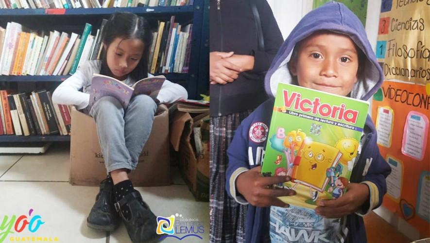 Niños guatemaltecos sueñan con asistir a la Feria de Lectura Infantil