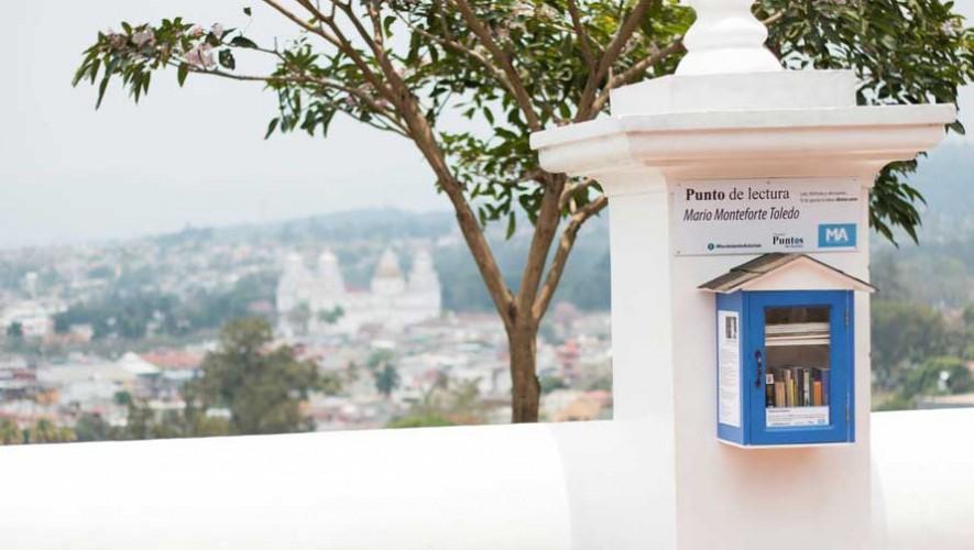 Puesto de lectura en Guatemala