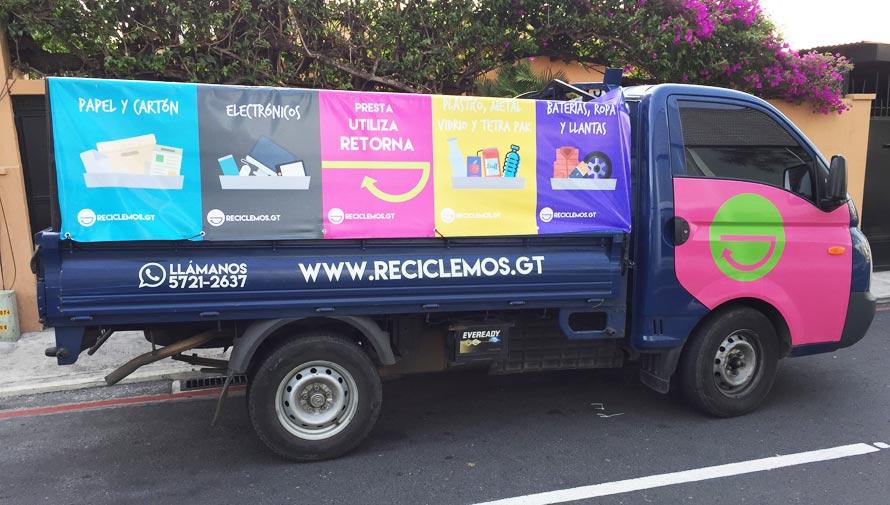Reciclemos GT Servicio de reciclaje a domicilio en Guatemala