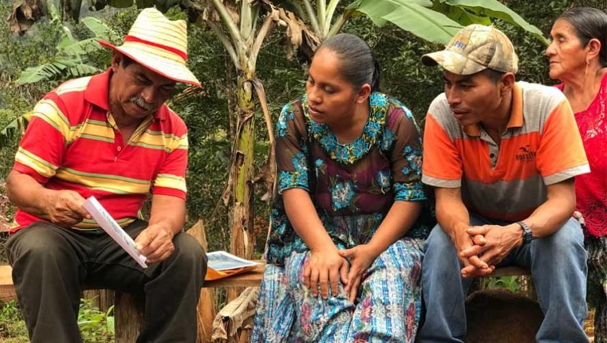 Rodrigo Tot guió a su comunidad y evitó que les fueran robadas sus tierras.