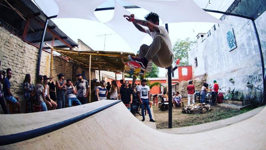 Competencia de skate en Antigua Guatemala | Abril 2017