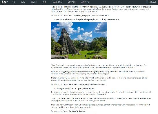 Top 10 de los mejores lugares del mundo donde se encuentra Tikal, Petén