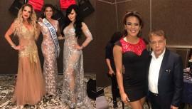 Virginia Argueta, Miss Universo Guatemala desfiló junto a reconocidas actrices mexicanas