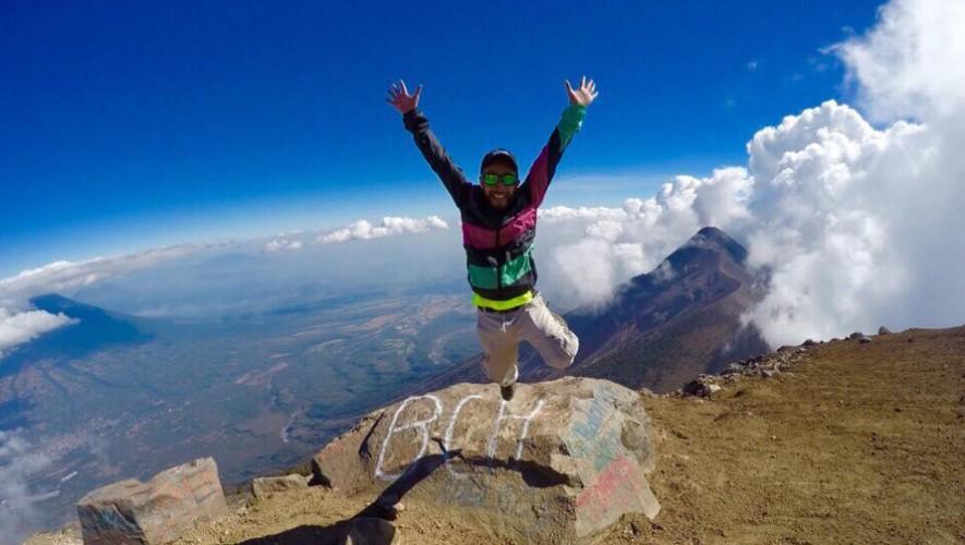 Ascenso al volcán Acatenango por Tito Tours | Abril 2017