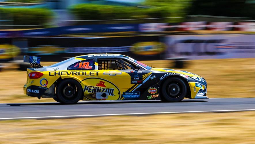 """""""Lush"""" Saravia se impuso en el campeonato de automovilismo en Costa Rica. (Foto: Cortesía de Andrés Saravia)"""