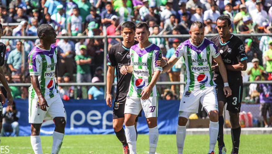 Partido de Antigua vs Comunicaciones por el Torneo Clausura | Abril 2017