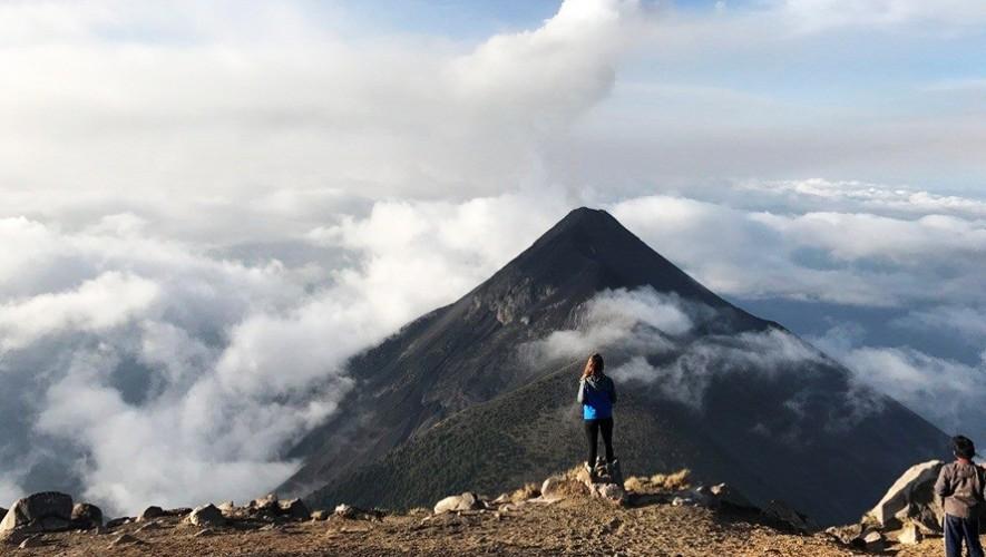Ascenso y campamento en Volcán Acatenango   Abril 2017
