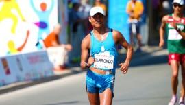 Barrondo logró su marca clasificatoria en el Gran Premio Internacional de Rio Maior en Portugal. (Foto: COGuatemalteco)