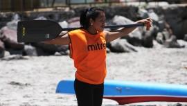 Clara López fue la líder del equipo tras ganar la primera medalla para Guatemala en esta competencia. (Foto: COGuatemalteco)