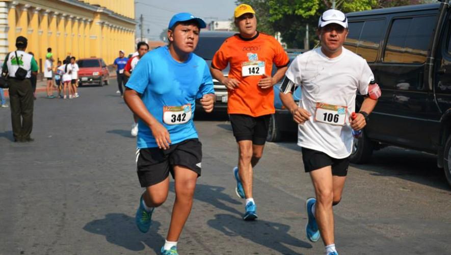 Carrera 12KM de Amor por EDECRI en Cobán   Abril 2017