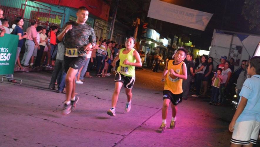 Carrera Nocturna 7.5K Dimaco en Coatepeque   Abril 2017