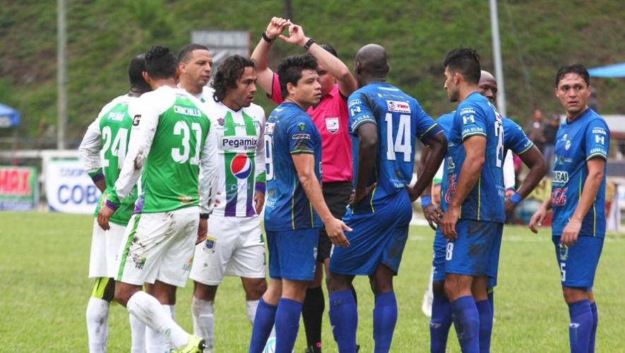 Partido de Cobán vs Antigua por el Torneo Clausura   Abril 2017