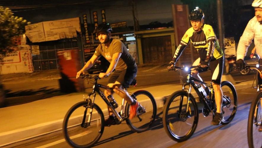 Colazo nocturno en bicicleta por el Viernes de Dolores   Abril 2017