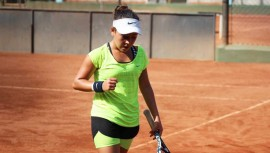Deborah se coronó campeona en singles, mientras que en dobles se quedó con el segundo lugar. (Foto: Federación Nacional de Tenis de Campo Guatemala)