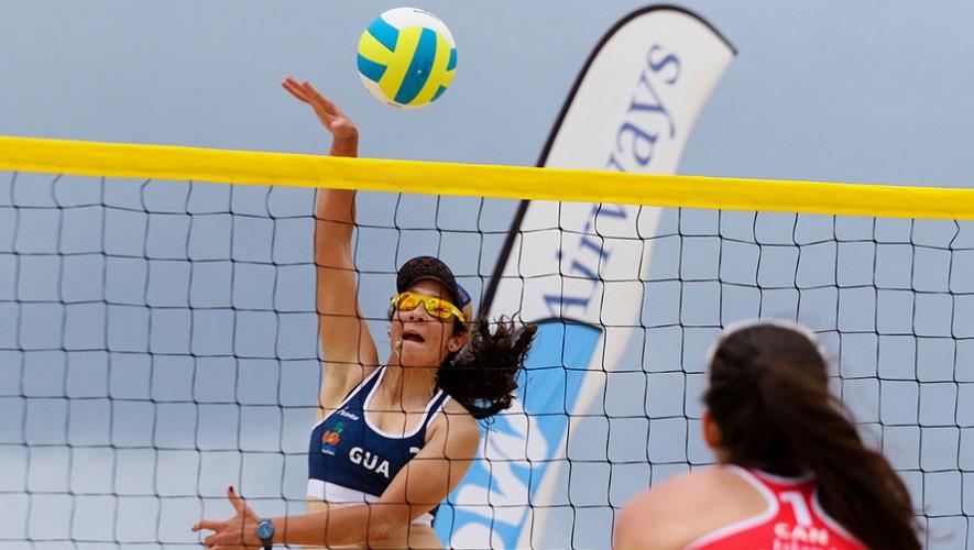 Las dos parejas de Guatemala buscarán su clasificación al Mundial de Viena. (Foto: Norceca)