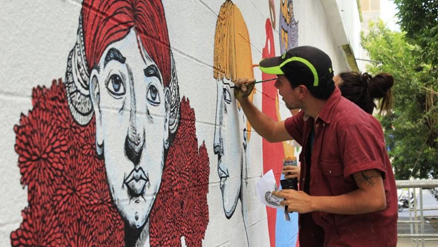 Sexto Festival del Mural en Guatemala | Mayo 2017