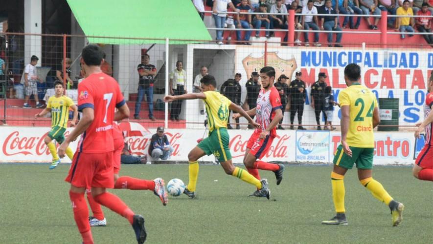 Partido de Guastatoya vs Malacateco por el Torneo Clausura | Abril 2017