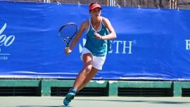 Gabriela Rivera liderará el equipo femenino en su búsqueda por clasificarse a la fase final de la Fed Cup Jr. (Foto: Javier Herrera/Rackets & Golf)