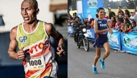 Amado García y Luis Rivero buscarán su clasificación al Mundial de Londres de Atletismo. (Foto: Mauricio Ureña/Luis Rivero)