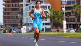 Gabriela Rodríguez logró ubicarse en la séptima posición de la general con solo 2 minutos de diferencia respecto a la ganadora. (Foto: COGuatemalteco)