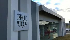 Inauguran la escuela de fútbol del FC Barcelona en Guatemala