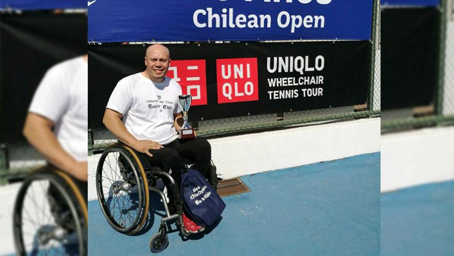 Rueda consiguió su primer título profesional del año en la categoría de silla de ruedas. (Foto: Julio Rueda)