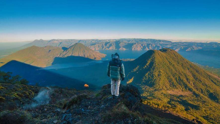 La doble del Lago: Ascenso a volcanes Atitlán y Tolimán | Abril 2017