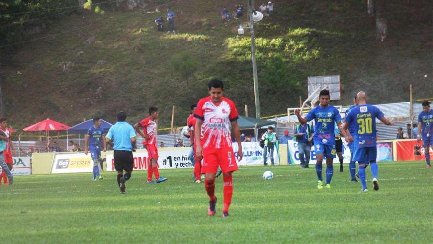 Partido de Malacateco vs Cobán por el Torneo Clausura | Abril 2017