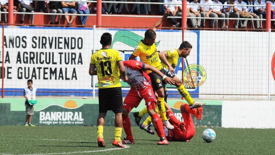 Partido de Marquense vs Malacateco por el Torneo Clausura | Abril 2017