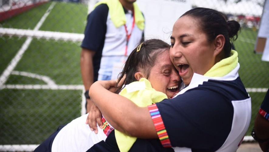 La delegación de Olimpiadas Especiales ganó su primer oro por medio de Indira Cáceres. (Foto: Olimpiadas Especiales Guatemala)