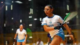 La campeona mundial juvenil de ráquetbol representará a Guatemala en el Panamericano. (Foto: COGuatemalteco)