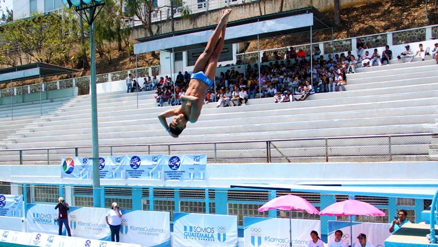 La delegación de clavados terminó con resultados positivos el Festival Deportivo. (Foto: COGuatemalteco)
