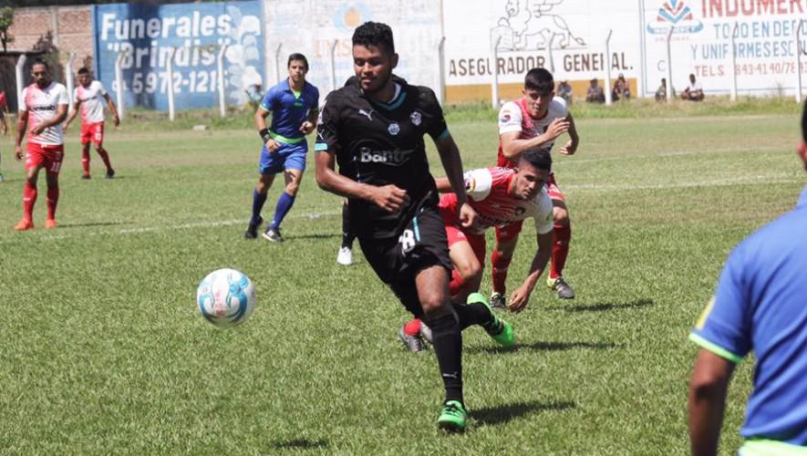 Partido de Mictlán vs Comunicaciones por el Torneo Clausura   Abril 2017