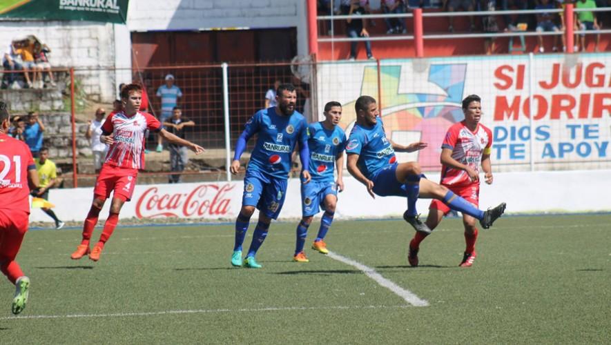 Partido de Municipal vs Malacateco por el Torneo Clausura | Abril 2017