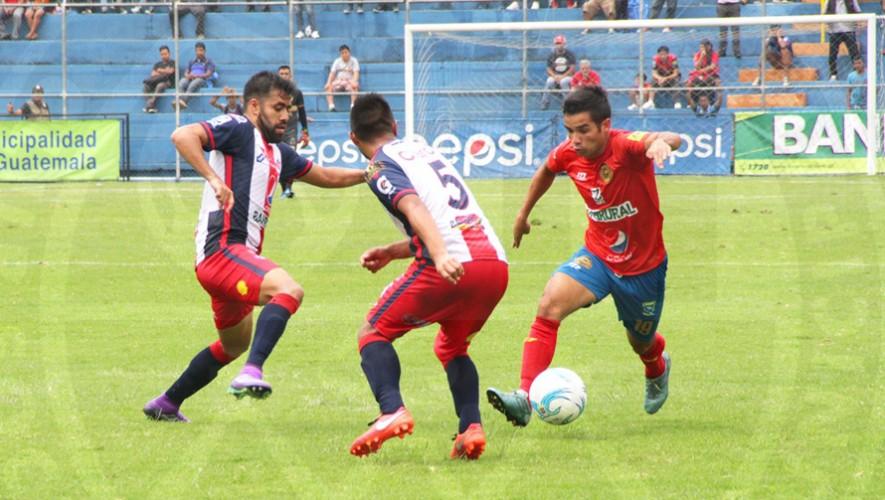 Partido de Municipal vs Xelajú por el Torneo Clausura | Abril 2017