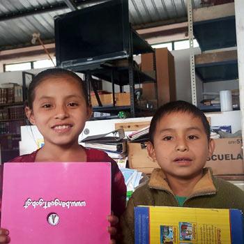 niños lectores guatemaltecos 2017