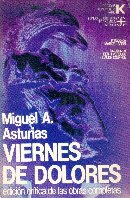 novela viernes de dolores de Miguel Ángel Asturias