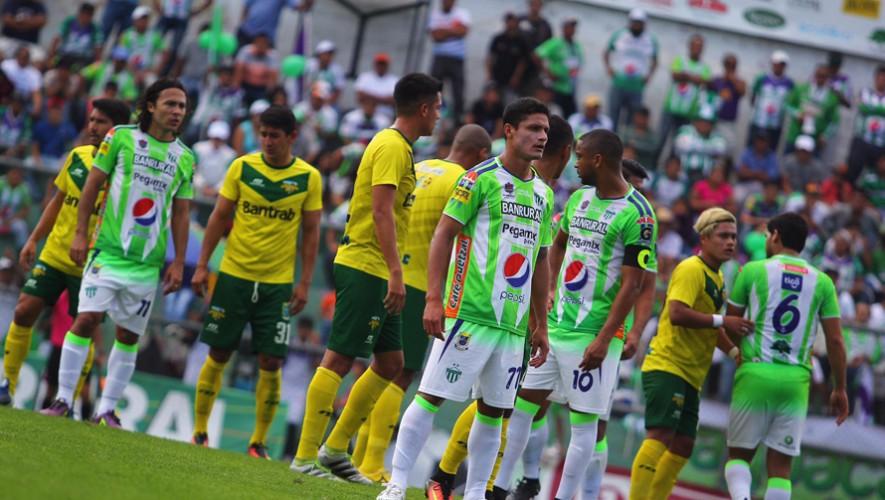 Partido de Petapa vs Antigua por el Torneo Clausura   Abril 2017
