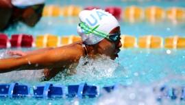 La natación y nado sincronizado fueron los dos primeros deportes en participar en este Festival Deportivo. (Foto: COGuatemalteco)