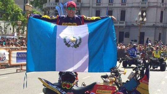 Rodolfo se colocó líder de la general tras su primera competencia de Cuatrimotos en el Mundial. (Facebook de Rodolfo Guillioli)